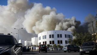 Φωτιά στο Πανεπιστήμιο Κρήτης - Μεγάλες καταστροφές στο κτήριο