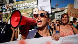 Διαδήλωση κατά της ραγδαίας αύξησης των ενοικίων στη Λισαβόνα (pics)