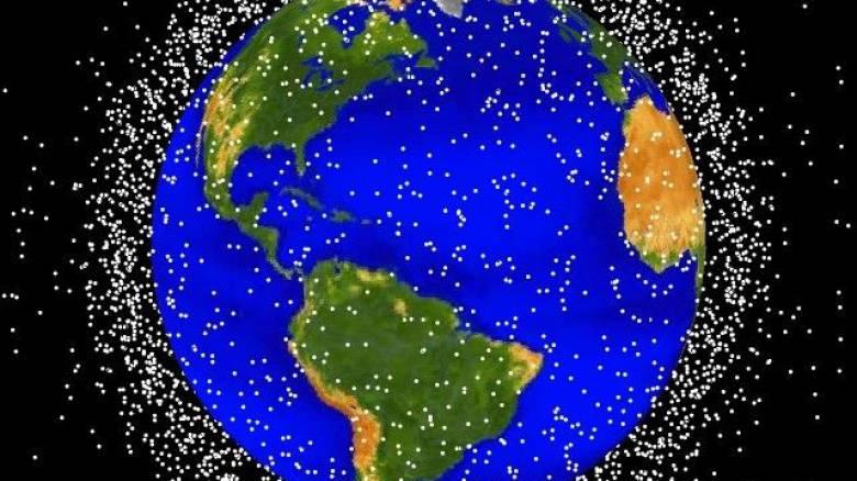 Πάνω από 20.000 διαστημικά «σκουπίδια» απειλούν τη Γη