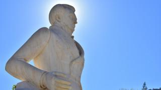 Ναύπλιο: Ολοκληρώθηκε η αποκατάσταση της φθοράς στο άγαλμα Καποδίστρια
