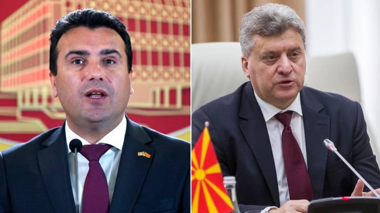 πΓΔΜ: Ο Ζάεφ κορυφώνει την καμπάνια του «ναι»-Αποχή Ιβάνοφ από το δημοψήφισμα