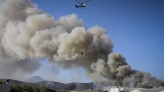 Ηράκλειο: Μεγάλες ζημιές από τη φωτιά στο Πανεπιστήμιο-Στην Κρήτη ο Γαβρόγλου