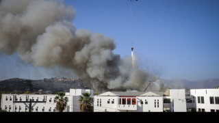 Πανεπιστήμιο Κρήτης: Η καταστροφή από ψηλά (vid)