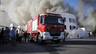 Πανεπιστήμιο Κρήτης: Ολονύχτια παραμονή της πυροσβεστικής στο σημείο