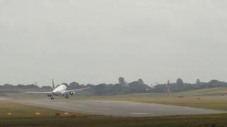 Προσγείωση – θρίλερ αεροσκάφους της Air France εν μέσω θυελλωδών ανέμων