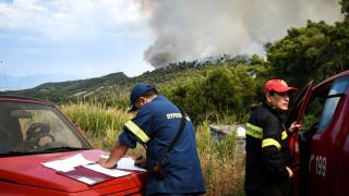 Πολύ υψηλός ο κίνδυνος πυρκαγιάς την Τρίτη (χάρτης)