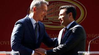 Μήνυμα Στόλτενμπεργκ στους Σκοπιανούς: Σας περιμένουμε στο ΝΑΤΟ