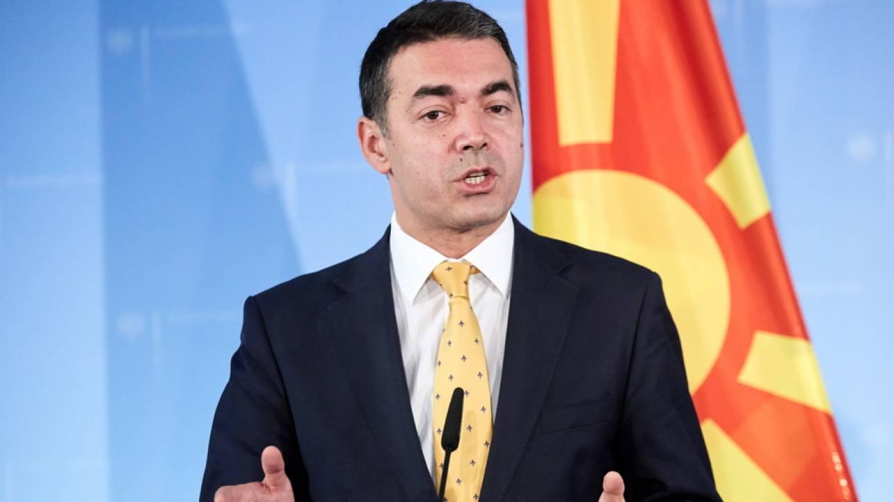 Ντιμιτρόφ: Στη Βουλή η Συμφωνία των Πρεσπών αν δεν επιτευχθεί το όριο συμμετοχής
