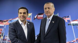 Συνάντηση Τσίπρα-Ερντογάν με το Κυπριακό στο επίκεντρο