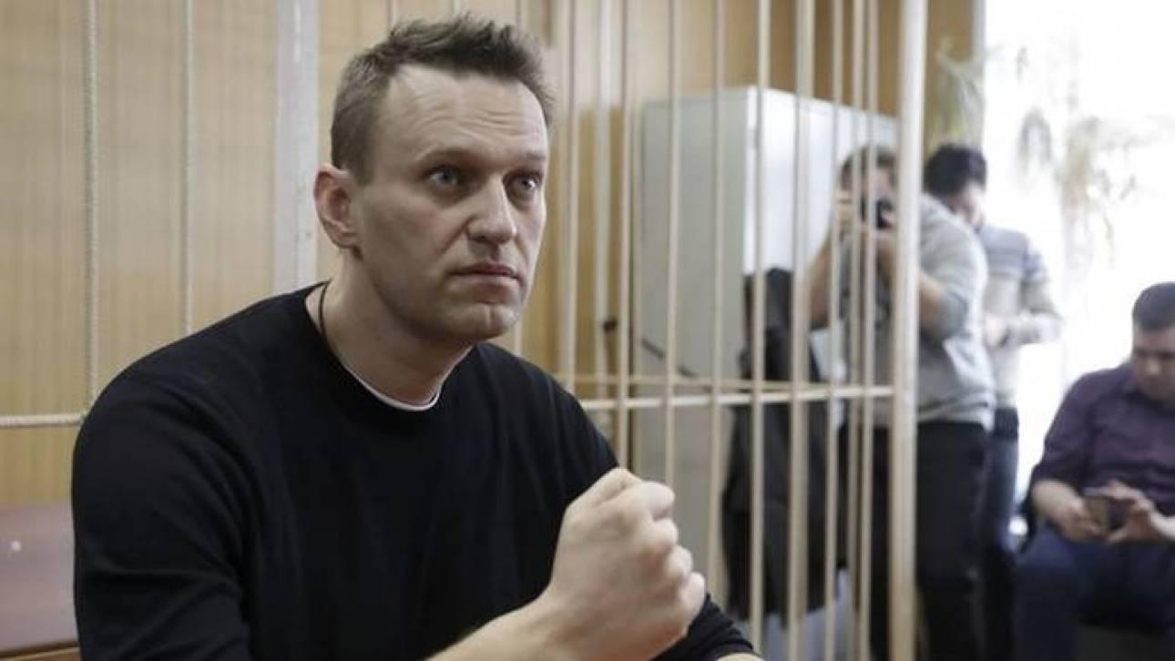 Ρωσία: Βγήκε από τη φυλακή και… ξαναμπήκε ο Ναβάλνι