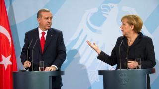 Γερμανία: Απούσα η Μέρκελ από τη δεξίωση προς τιμήν του Ερντογάν
