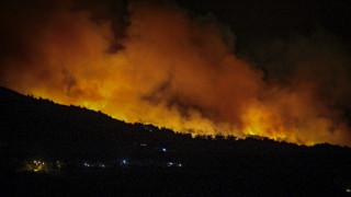 Μεγάλη πυρκαγιά στην Τοσκάνη
