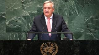 Γκουτέρες: Ελλάδα και πΓΔΜ έκαναν σημαντικό βήμα επίλυσης των διαφορών τους