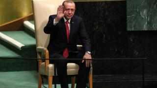 Τι συνέβη με την αποχώρηση του Ερντογάν από την ομιλία Τραμπ