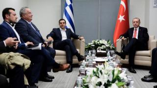 Μια ώρα διήρκησε η συνάντηση Τσίπρα-Ερντογάν