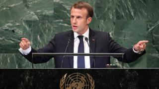 Έκκληση από Μακρόν για επίλυση της ιρανικής κρίσης μέσω διαλόγου