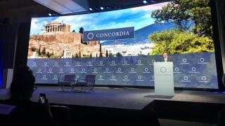 Τσίπρας στο Concordia Annual Summit: H Ελλάδα στέκεται στα πόδια της μετά από χρόνια λιτότητας