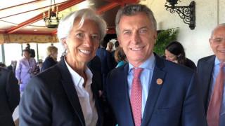 Λαγκάρντ: ΔΝΤ και Αργεντινή βρίσκονται «κοντά» σε συμφωνία