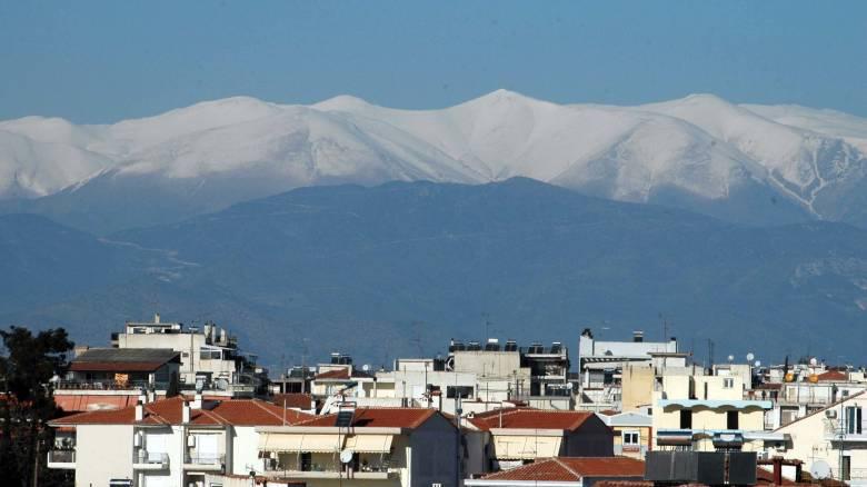 Κακοκαιρία: Στα λευκά οι κορυφές του Ολύμπου - Έπεσαν τα πρώτα χιόνια στη Φλώρινα