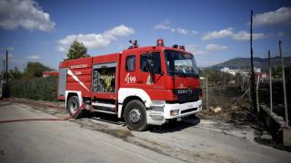Θεσσαλονίκη: Φωτιά στην περιοχή του Αγγελοχωρίου