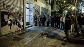Επεισόδια στο κέντρο της Αθήνας στην πορεία για τον Ζακ Κωστόπουλο