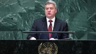 Σε μποϊκοτάζ του δημοψηφίσματος στην πΓΔΜ καλεί τους πολίτες ο Ιβάνοφ