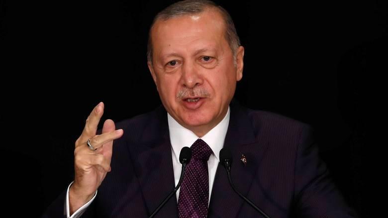 Ο Ερντογάν καταγγέλλει τις ΗΠΑ για αθέτηση υποσχέσεων