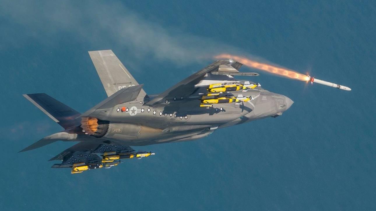 ΗΠΑ: Βάπτισμα πυρός για το νέο μαχητικό αεροσκάφος F-35B σε βομβαρδισμό κατά των Ταλιμπάν
