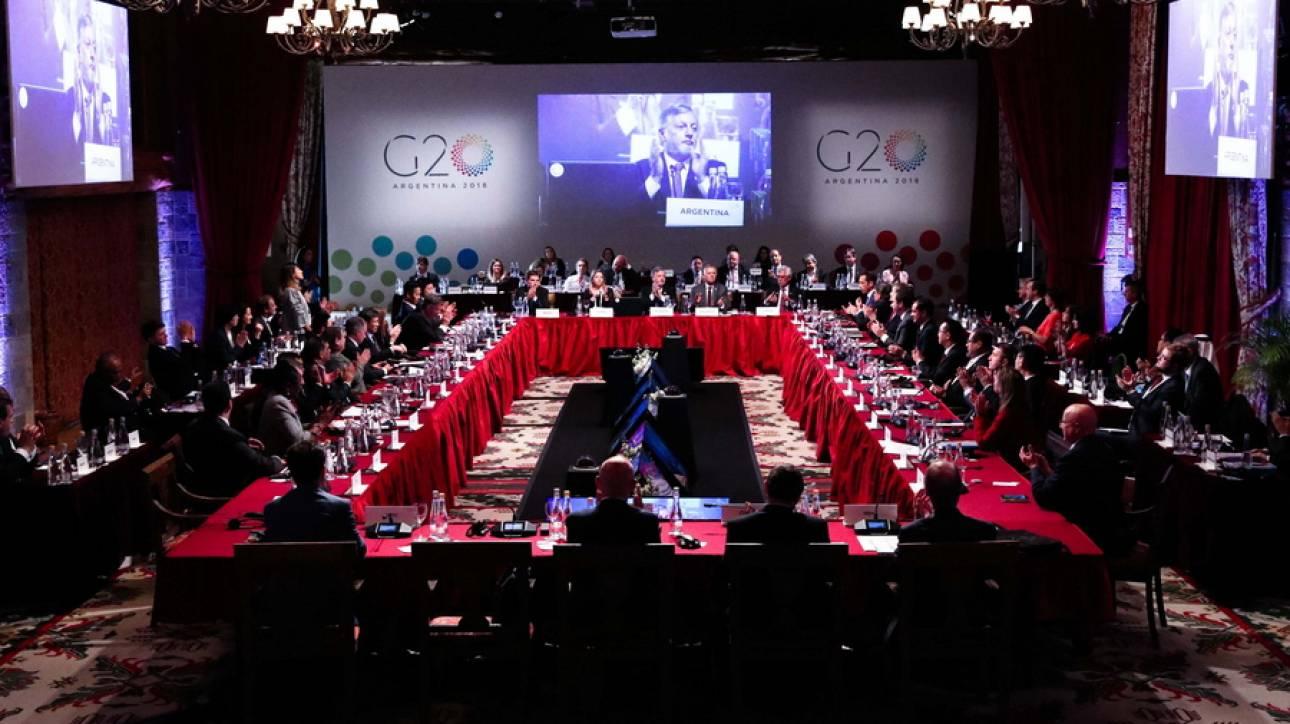 «Η κλιμάκωση των εμπορικών εντάσεων μπορεί να πλήξει την ανάπτυξη» προειδοποιεί η Ευρώπη τη G20
