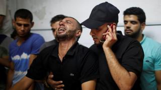 Χωρίς τέλος οι συγκρούσεις στη Γάζα: Έξι ακόμη Παλαιστίνιοι νεκροί
