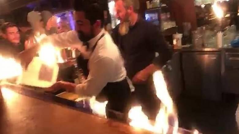 Κωνσταντινούπολη: Φωτιά στο εστιατόριο του Salt Bae - Έλληνας τουρίστας μεταξύ των εγκαυματιών