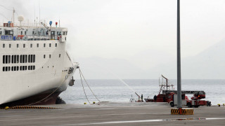 Σύγκρουση δεξαμενόπλοιου με φορτηγό πλοίο στον Πειραιά