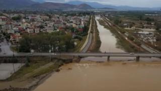 Κυκλώνας Ζορμπάς: Εικόνες χάους κατέγραψε drone πάνω από την Αργολίδα