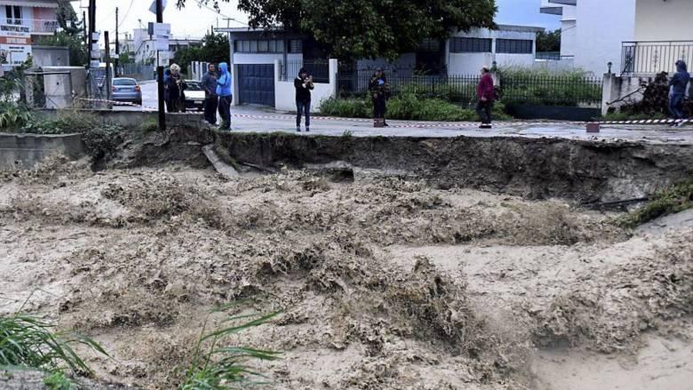 Κυκλώνας Ζορμπάς: Κλειστά σχολεία αύριο και μεθαύριο σε Κορινθία – Εκτεταμένες οι ζημιές