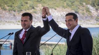 Δημοψήφισμα Σκόπια: Συγχαρητήρια Τσίπρα σε Ζάεφ για την αποφασιστικότητά του