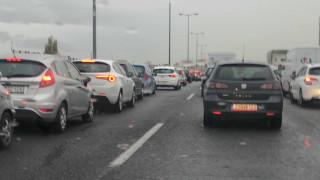 Αυξημένη κίνηση στους δρόμους της Αθήνας