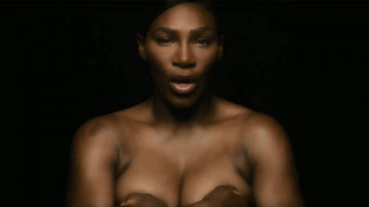 Σερένα Γουίλιαμς: τραγουδάει γυμνή κατά του καρκίνου του μαστού (vid)