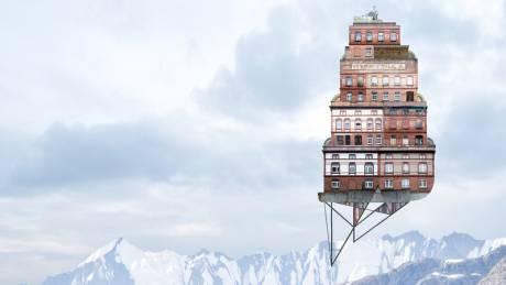 Up! Αρχιτεκτονική & σουρεαλισμός στη χαρτογραφία του ουρανού