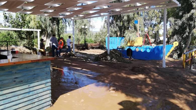 Κυκλώνας Ζορμπάς: Εικόνες καταστροφής στην Αργολίδα