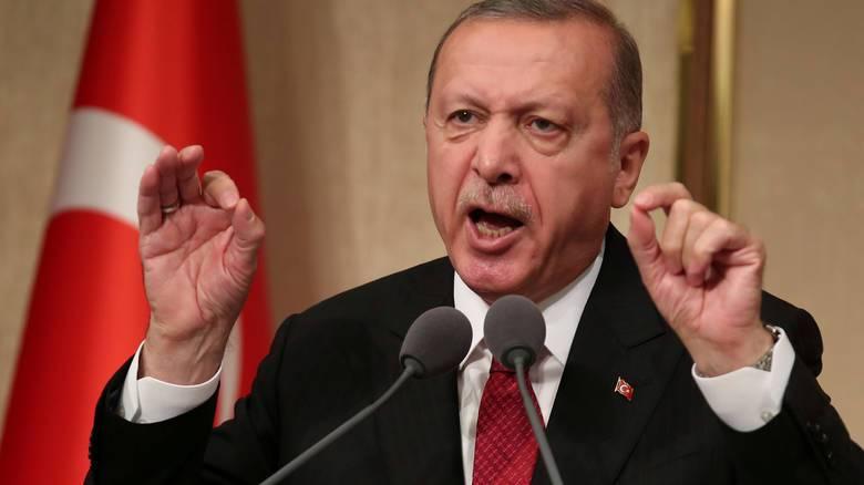 Ερντογάν: Λάθος η τακτική των ΗΠΑ να προκαλούν και να εκβιάζουν την Τουρκία