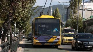 Χωρίς τρόλεϊ για πέντε ώρες η Αθήνα σήμερα