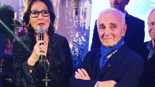 Adieu Monsieur Aznavour! Νανά Μούσχουρη & άλλοι αποχαιρετούν τον Σινάτρα της Γαλλίας