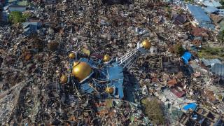Πλήρης ισοπέδωση: Η καταστροφή στην Ινδονησία από ψηλά