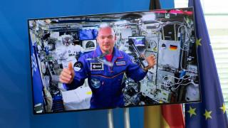 O Γερμανός αστροναύτης Αλεξάντερ Γκερστ γράφει ιστορία