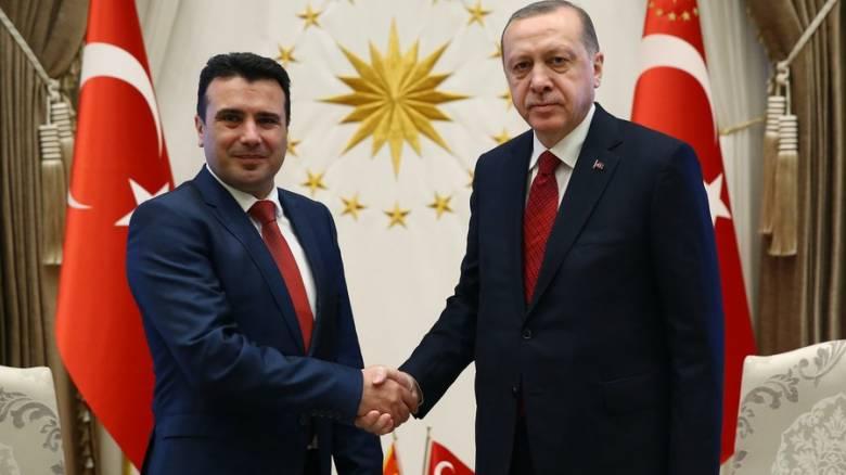 Διπλωματικό «πόκερ» για την πΓΔΜ: Στήριξη Ζάεφ από την Άγκυρα μετά την αντίδραση της Μόσχας