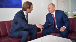 Συνάντηση Πούτιν - Κουρτς στην Αγία Πετρούπολη