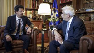 Παυλόπουλος σε Δασκαλάκη: Περήφανοι οι Έλληνες για το κύρος και το ήθος σας