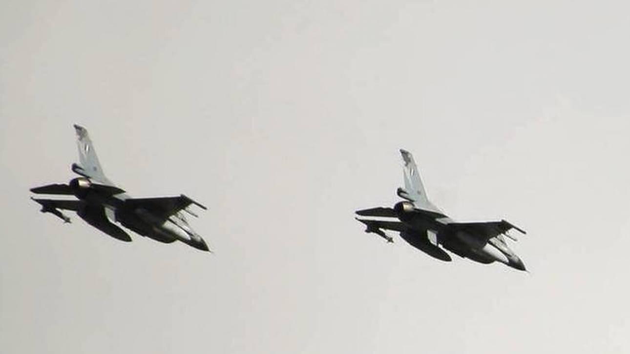 Νέες παραβιάσεις στο Αιγαίο: Πτήση τούρκικου F-16 πάνω από το Φαρμακονήσι