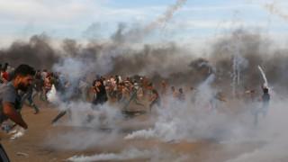 Γάζα: Τρεις Παλαιστίνιοι νεκροί και δεκάδες τραυματίες