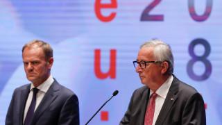 Brexit: Αισιοδοξία από Γιούνκερ και Τουσκ για συμφωνία με τη Βρετανία